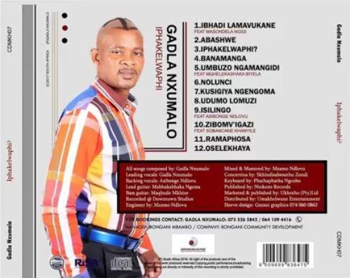 Gadla Nxumalo Zimbov'igazi